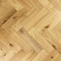 90mm Oiled Engineered Rustic Oak Parquet Block Wood Flooring