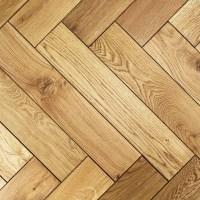Engineered Black UV Oiled Oak Parquet Block Wood Flooring 0.