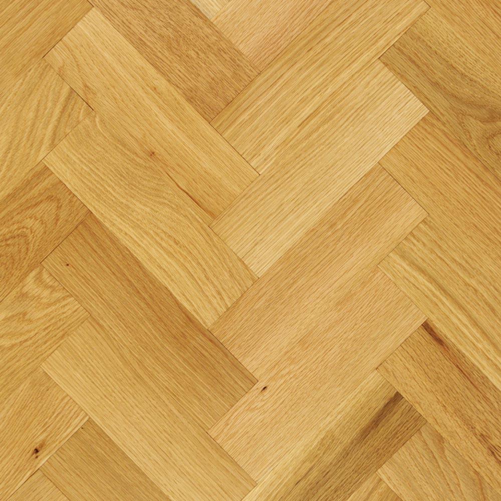 70mm Unfinished Prime Parquet Block Solid Oak Wood Flooring