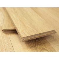140mm Unfinished Natural Solid Oak Wood Flooring 1m 20mm S
