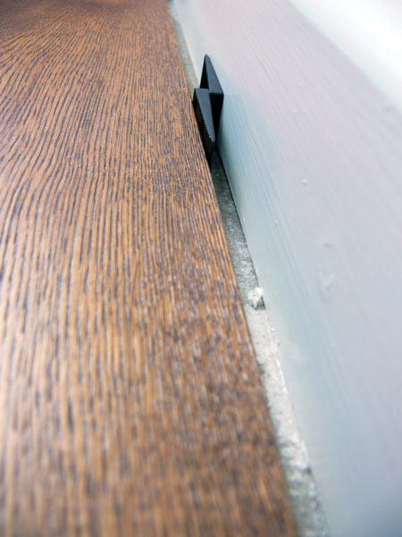 what is an expansion gap the wood