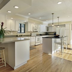 Wood Flooring For Kitchen Sink Floors Kitchens Are They Suitable Products To Use Hardwood In