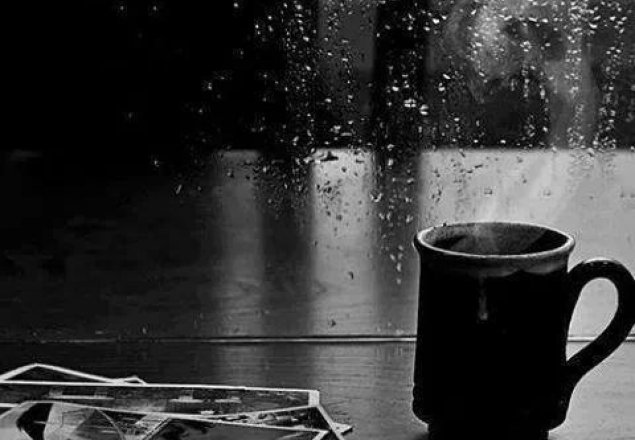 Coffee house on a rainy day audio atmosphere