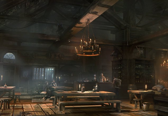 In another dull tavern audio atmosphere