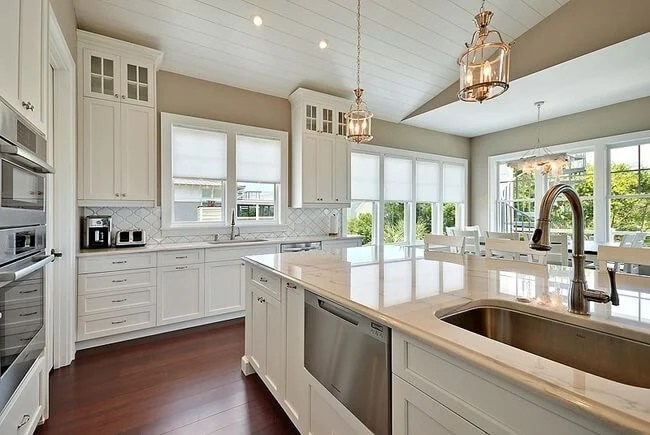 Bamboo Flooring in Kitchen  Commercial Bamboo Flooring