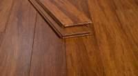 Carbonized Strand Woven Strand Bamboo Floor