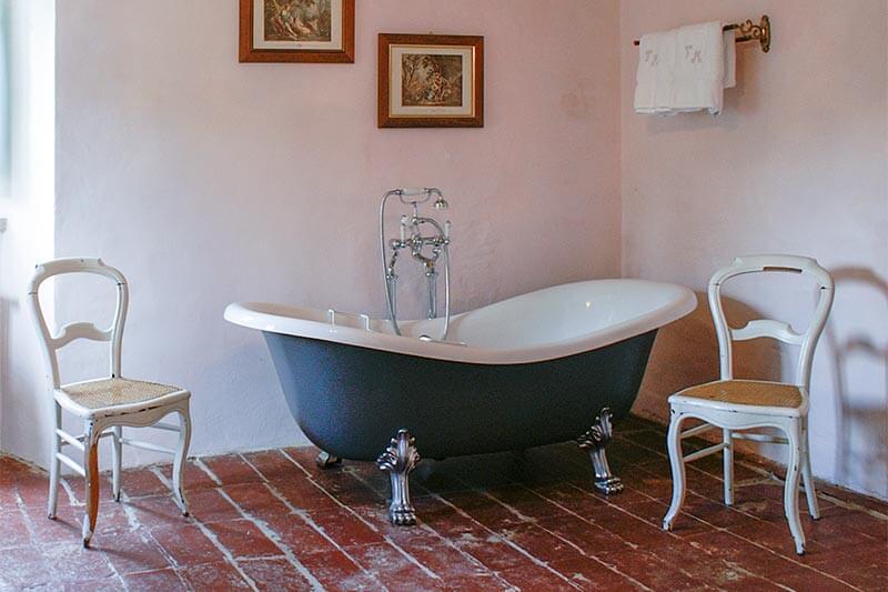 Freistehende Badewanne Stahl Emaille