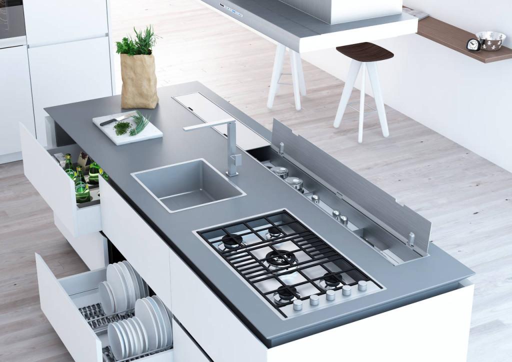Dentro al cassetto Nuove attrezzature per lo storage  Ambiente Cucina