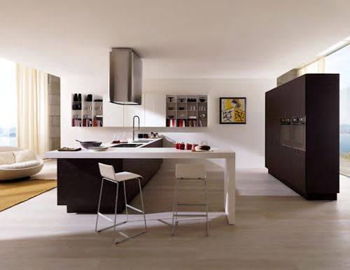 Sette cucine isola  Ambiente Cucina