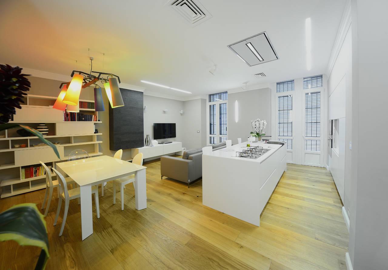 Elica per la ristrutturazione di un Open Space a Torino  Ambiente Cucina