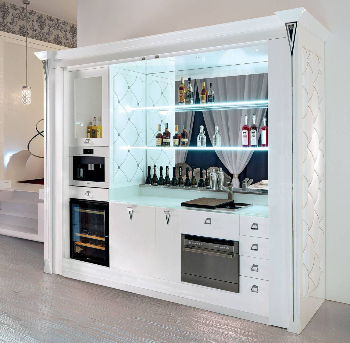 Cantine vino per degustazioni in casa  Ambiente Cucina