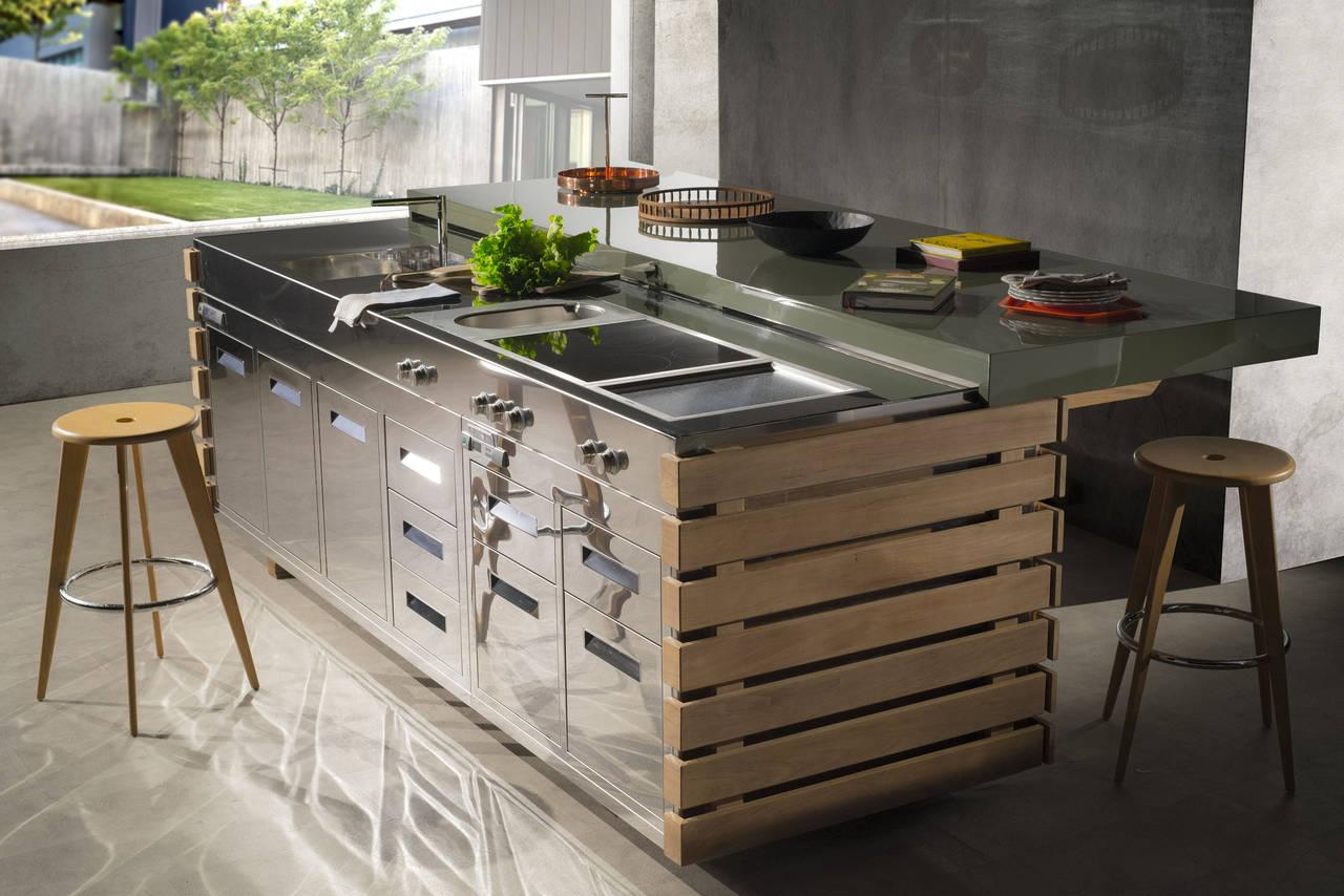 Cucinare e vivere outdoor  Ambiente Cucina