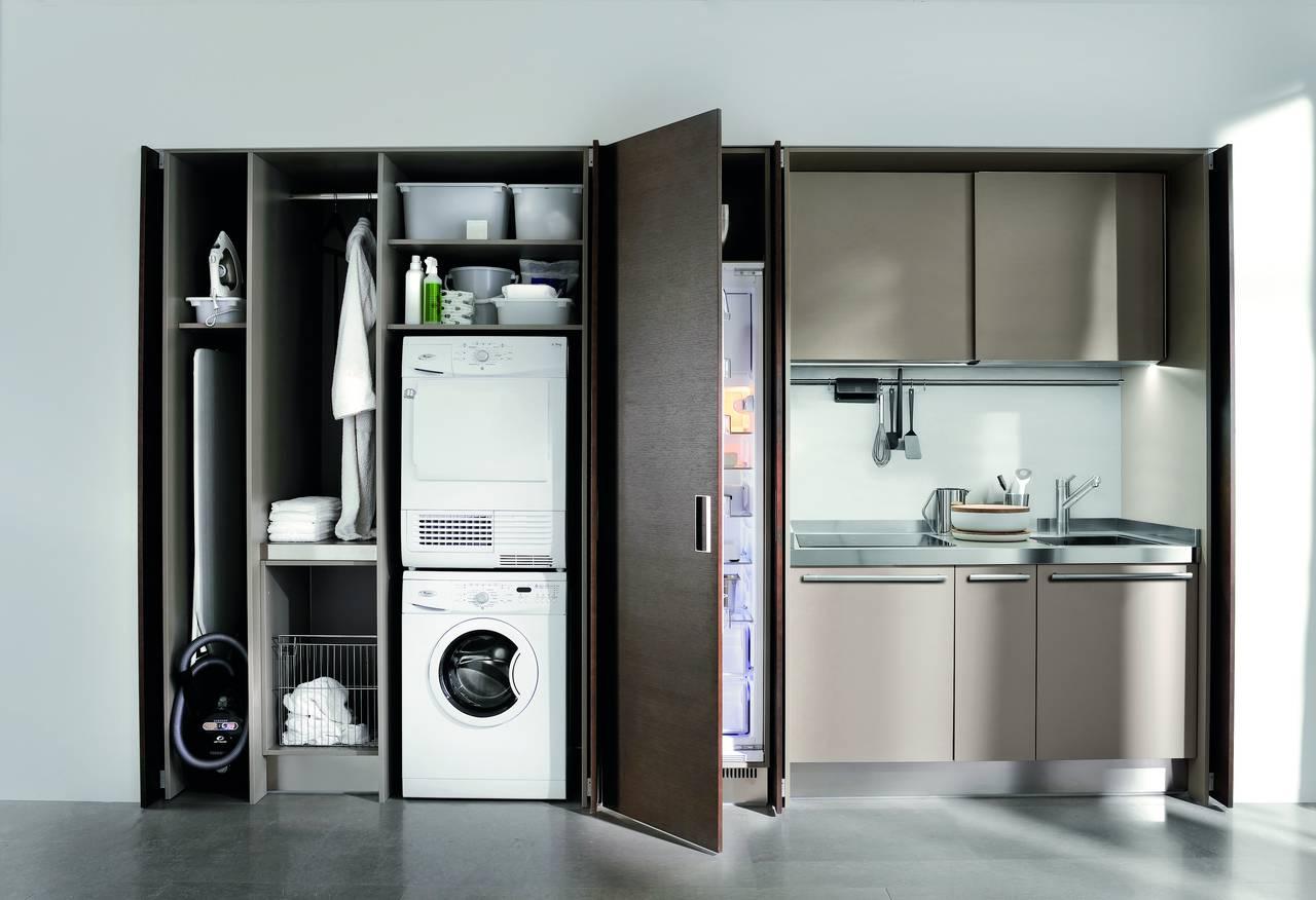 Ambiente Cucina Project n 50  Arclinea  lavanderia integrata