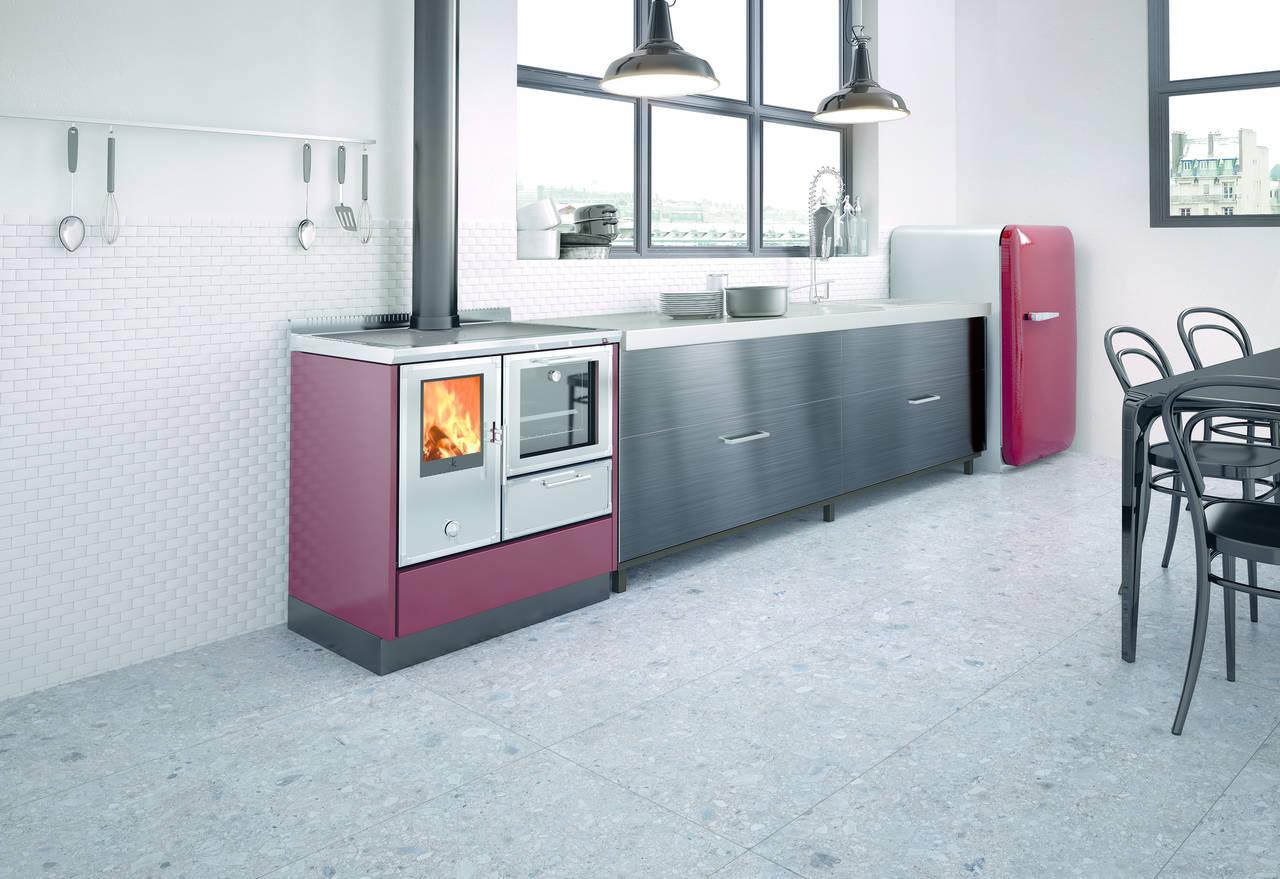 Kitchen Kamin nuova serie dalle alte performance di Edilkamin