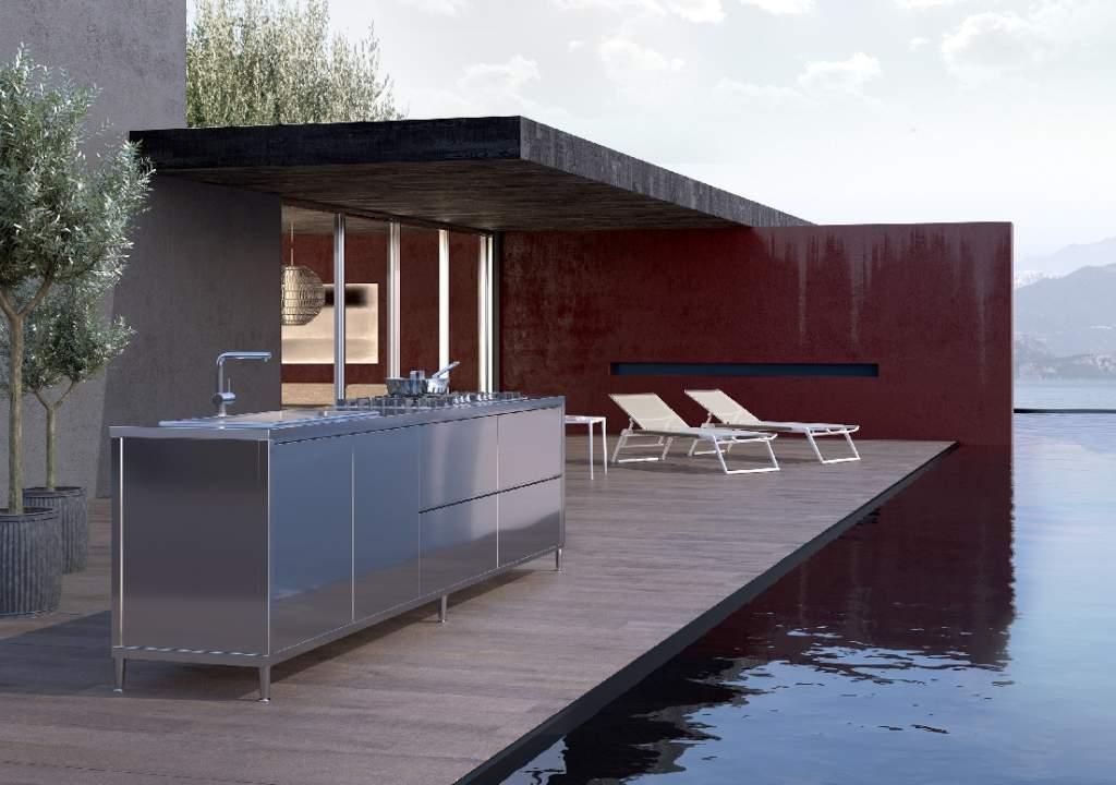 Il design inossidabile delle cucine outdoor  Ambiente Cucina