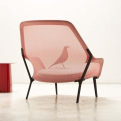 Vitra Lounge Chair Power Lift Repair Slow And Ottoman Ambientedirect