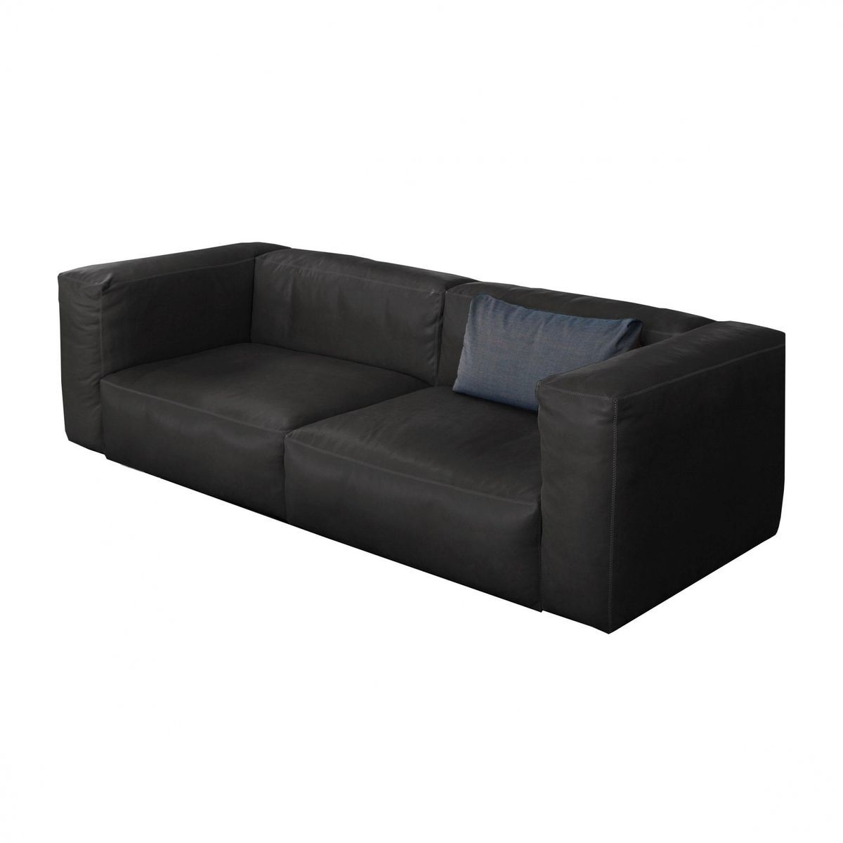sofa with legs or without akhtar furniture wooden mags soft 2 5 seater leather hay ambientedirect