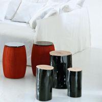 Log Side Table | Gervasoni | AmbienteDirect.com