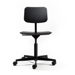 Swivel Chair Quotes Ergonomic Singapore Review Mr Square With Wheels Richard Lampert