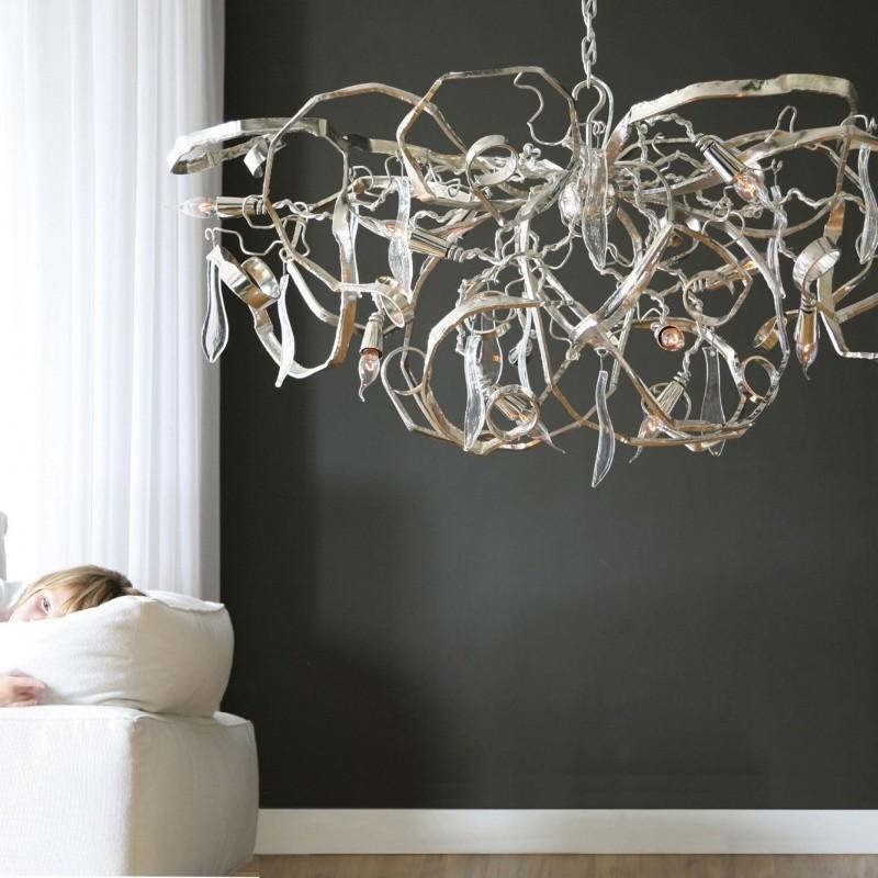 chair design brands fishing guest delphinium oval chandelier | brand van egmond ambientedirect.com