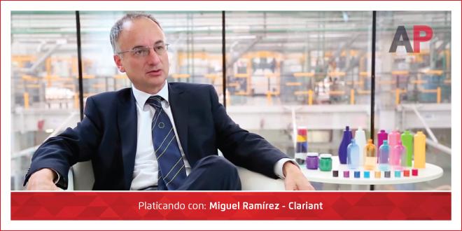 Photo of Ambiente Plástico con Miguel Ramírez – Clariant