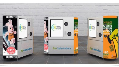 Photo of Presentan nuevo modelo de máquinas recicladoras para México
