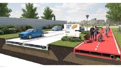 Photo of Presentan proyecto de carreteras hechas de plástico