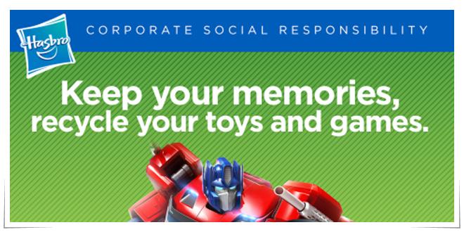 Photo of Hasbro recicla sus juguetes