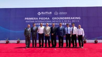 Photo of Coloca Haitian primera piedra de su nueva planta en Guadalajara