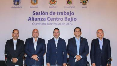 Photo of Refuerzan gobernadores alianza de Centro-Bajío-Occidente