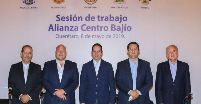 Photo of Refuerzan gobernadores alianza de Centro-Bajío-Occidente