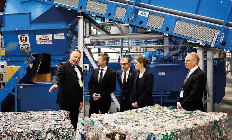 Photo of Se inaugura nueva planta de clasificación de STADLER para Dansk Retursystem