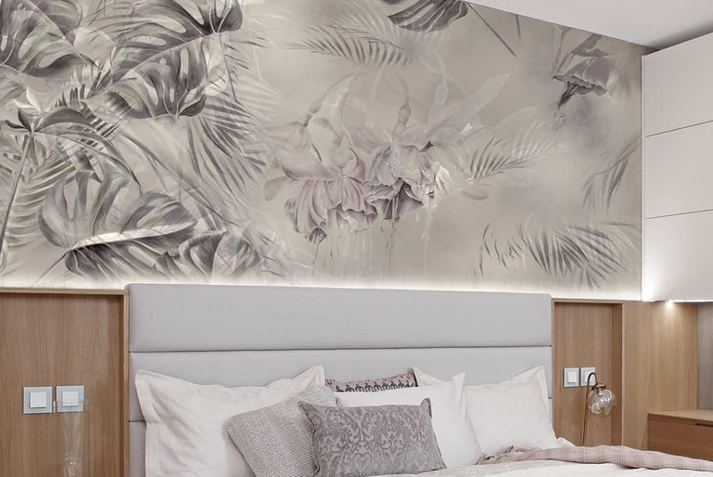 Come arredare una camera da letto in stile classico o moderno: Carta Da Parati Di Design Per La Camera Da Letto Ambientha