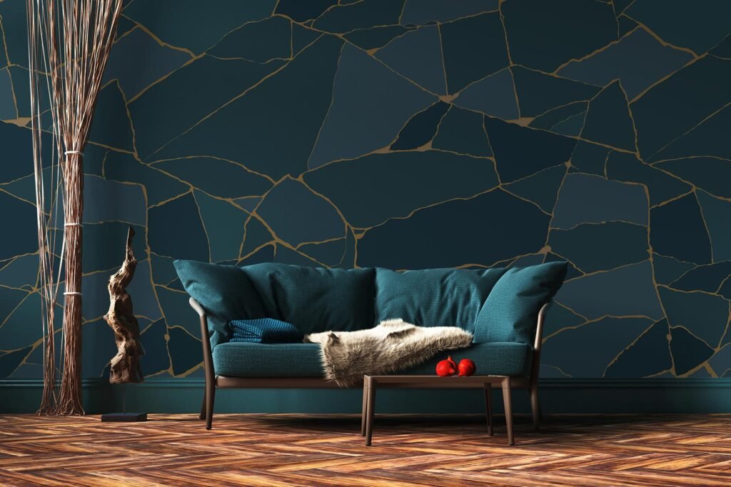 Ideale per ogni tipo di muro. 5 Style Ideas For Your Living Room Wallpaper Ambientha