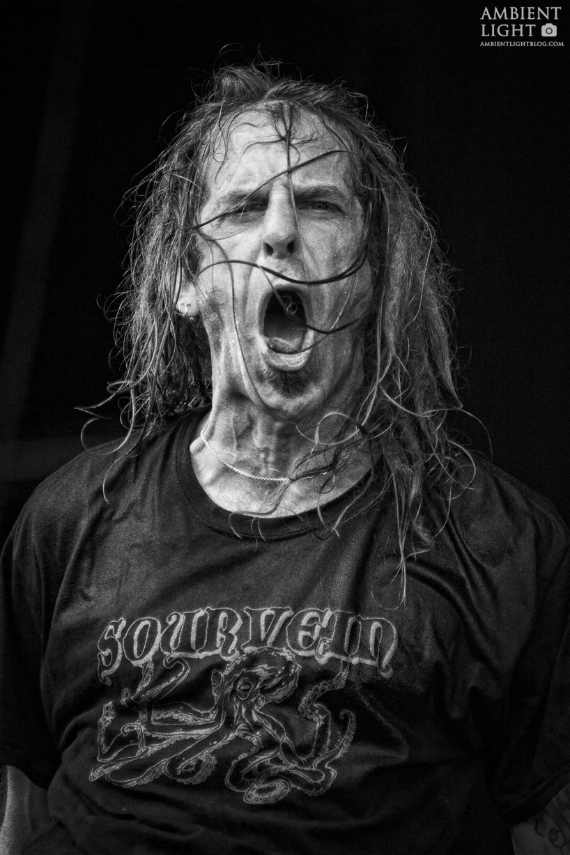 Lamb of God performs live at Westfest, Auckland 2015.