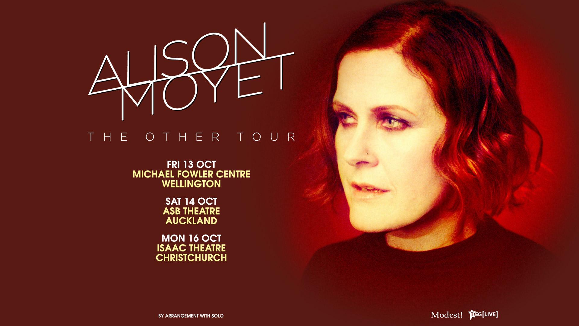 Alison Moyet NZ Tour Poster