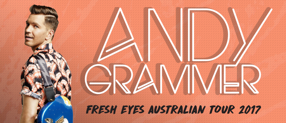 Andy Grammer Tour Banner