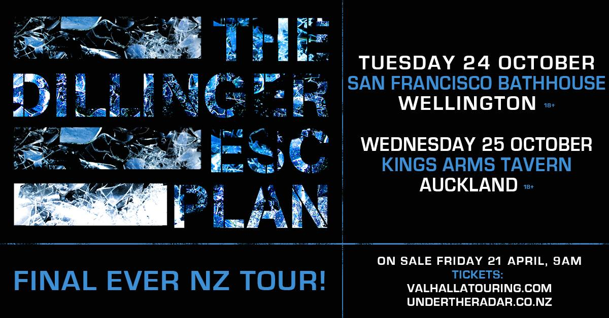 The Dillinger Escape Plan Tour Poster