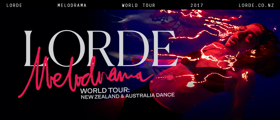Lorde Tour Banner