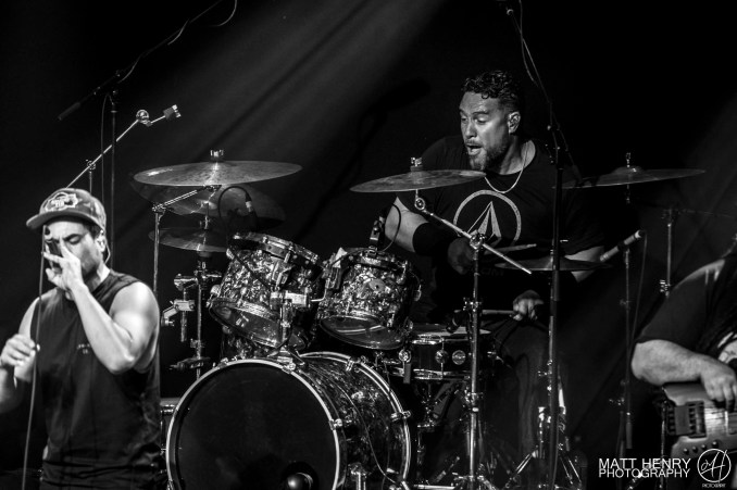Katchafire performing live at the Powerstation, Auckland 2017. Image by Matt Henry Photography.