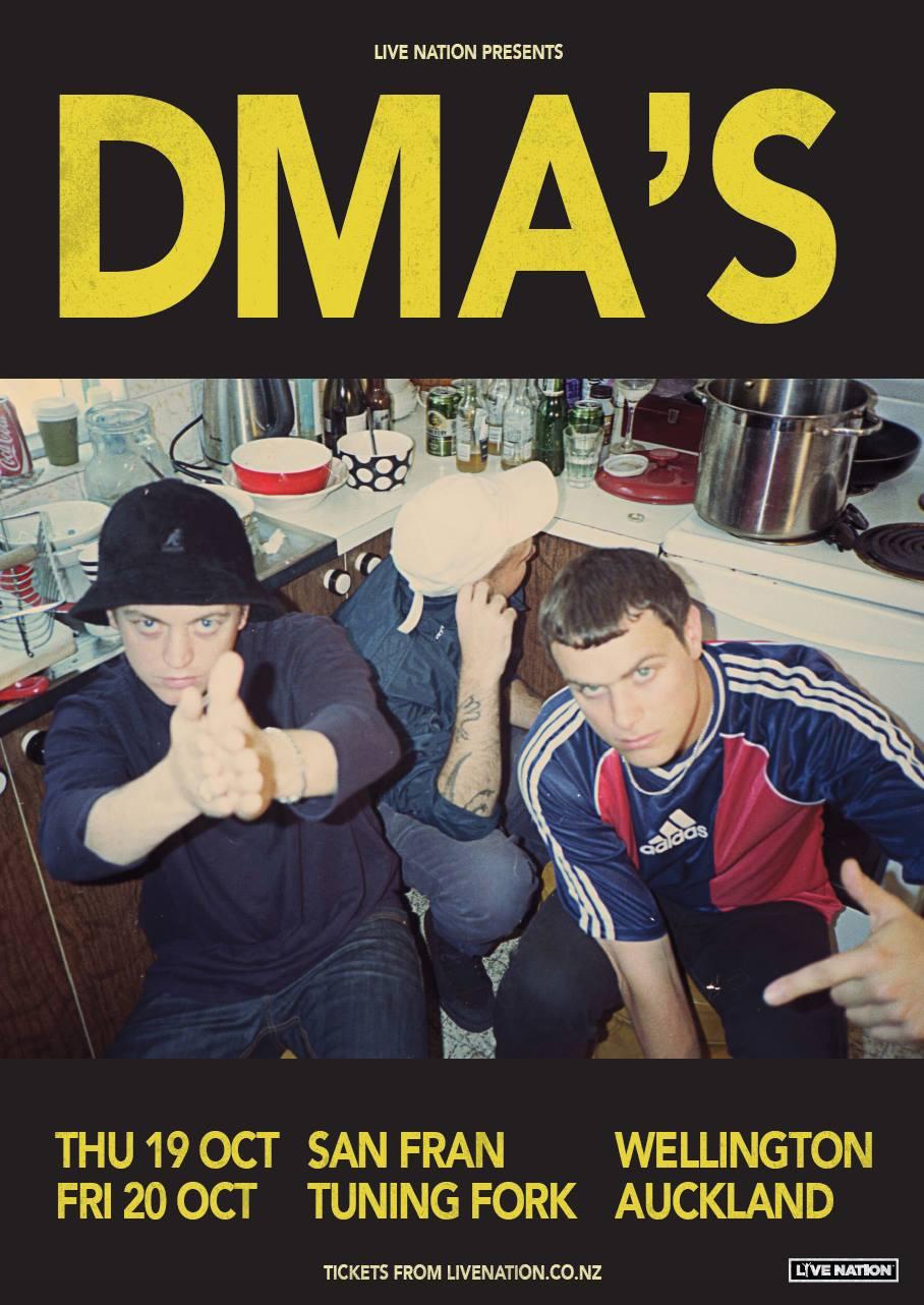 DMA's NZ Tour Poster