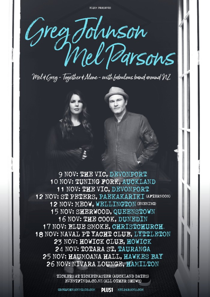 Greg and Mel Tour Poster