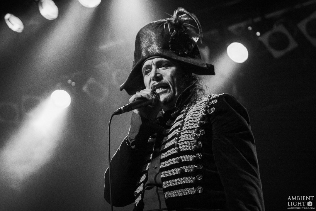 Adam Ant performing live in Auckland, New Zealand 2017. Image by Doug Peters.