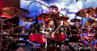 Mike Portnoy's Shattered Fortress performed live in Auckland, New Zealand. Image by Matt Henry Photography.
