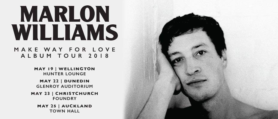 Marlon Williams Tour Banner