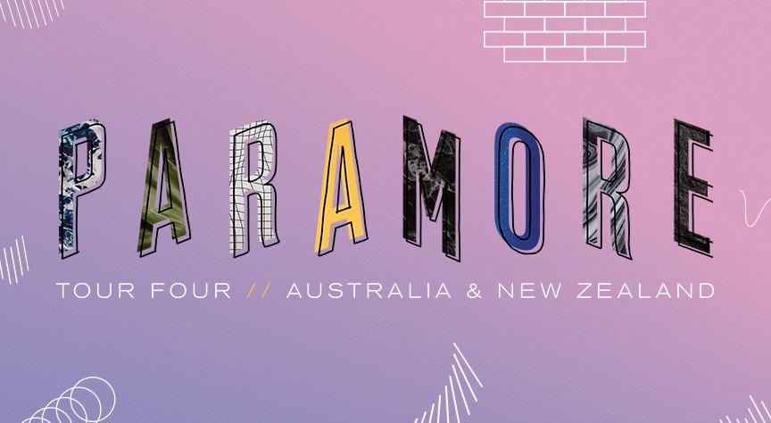 Paramore Tour Banner