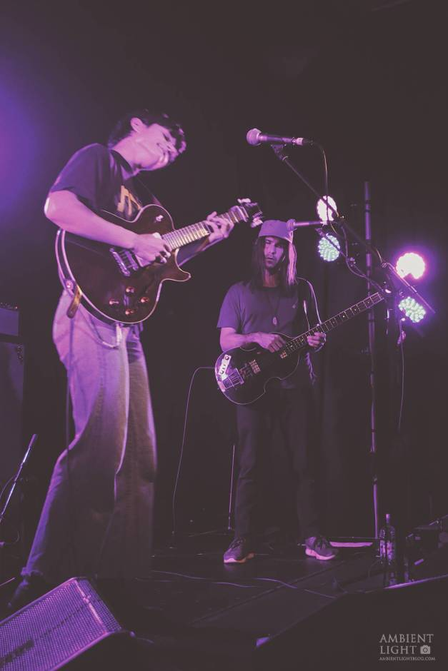 Big Thief performing live in Auckland, New Zealand 2017. Image by Sarah Kidd.
