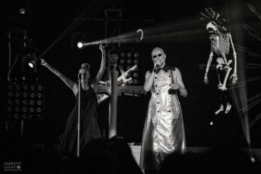 The Human League perform live in Auckland, New Zealand, 2017. Image by Doug Peters.