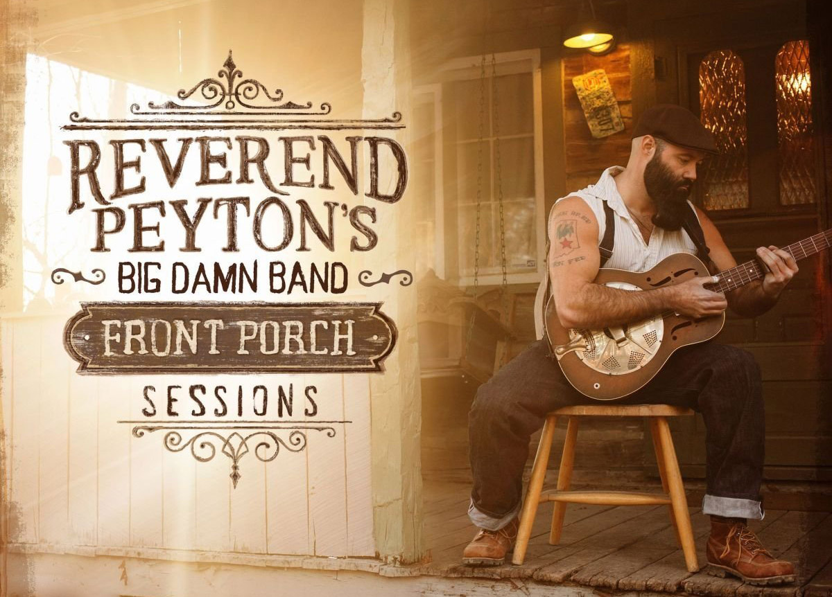 Revered Peyton's Big Damn Band Banner