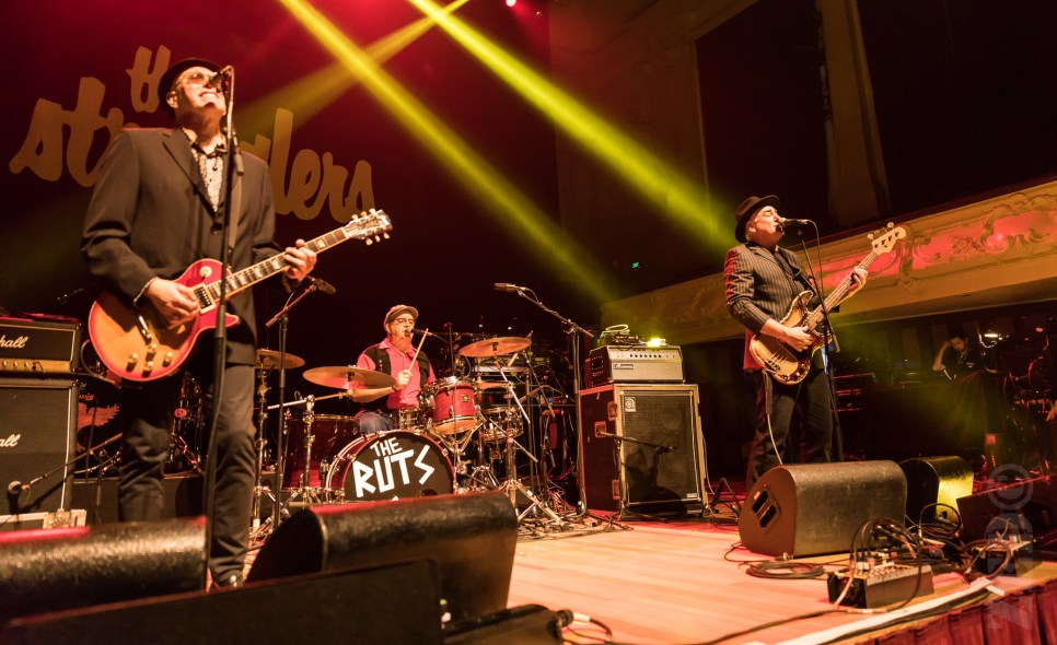 The Ruts DC performing live in Auckland, New Zealand 2018. Image by Zed Pics.
